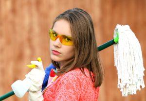 Уборка в квартире – уборка в жизни
