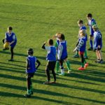 Игра регби, большой спорт детям